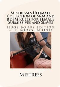 Mistress' Ultimate Collection of Rules